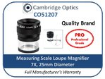 Scale Loupe Magnifier 7X 25mm PRO