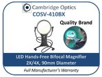 LED Hands-Free Magnifier 1.5X/4X