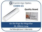 On The Page Bar Magnifier 2x 200mm