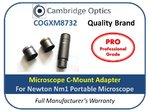 C-Mount Camera Adapter for Nm1 Portable Microscope