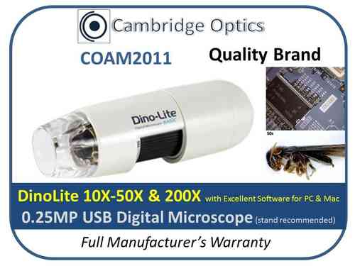 Digital Microscope 200X 0.25MP
