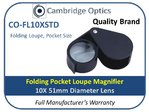 Folding Loupe Magnifier 10X 51mm