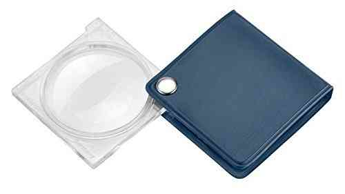 Eschenbach Economy Folding Pocket 3.5x Magnification 45mm Diameter-Blue-Plastic