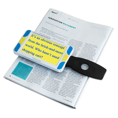 CO-PDVM-37 Digital Electronic Reading Aid Magnifier - Large Bright Screen magnifications up to 32X