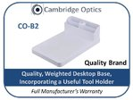 Rectangular Desktop Magnifier Weighted Base with Tool Holder CO-B2