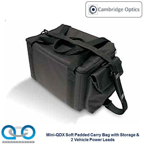 Soft Padded Carry Bag for Mini-QDX Portable Compact Document Check System